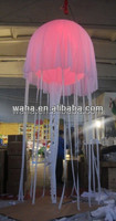 inflatable LED jellyfish, inflatalbe giant jellyfish advertising , giant advertising light jellyfish balloon