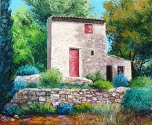 Palette Knife oil painting Landscape Painting Wholesale Price