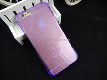 Wholesale Purple Air Cushion Gel Case for iPhone 6/6S