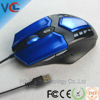 New hot-sale wired optical usb mouse wholesale price raser cheap tablet pc game mouse 6D