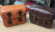 Vintage Leather Photo Camera Bag