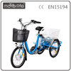 MOTORLIFE/OEM brand EN15194 36v 250w bicycles to three wheels for adults