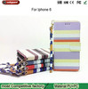 Factory wholesale lanyard holster for iphone6 case, Flip the card multifunction mobile phone sets for ip6 case