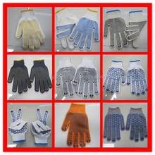 PVC Dotted Cotton Gloves From Linyi City