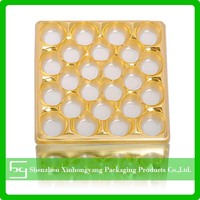 Plastic Tray For Food Packing, Rectangle PET Tray, Chocolate Blister Tray