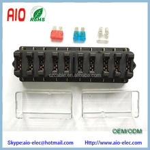 Universal Car Truck Vehicle 12v 10 Way Circuit Automotive Middle-sized Blade Fuse Box Block Holder