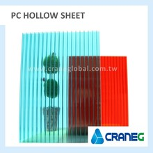 Polycarbonate green house Mulitwall sheet