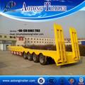 2015 nova multi eixo reboque do caminhão dimensões 80 ton armário baixo cama para venda