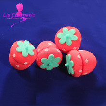 Fashion Strawberry foam hair roller large for hair beauty