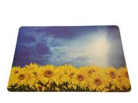 Sunflower pattern popular waterproof pp placemat