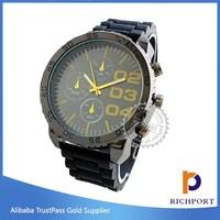 Custom design new model classic wrist watch for men