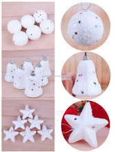 Fashion Christmas Decorations, Star, Ball, Bell, Christmas Tree Ornament