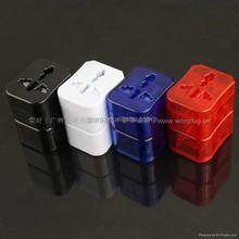 Colorful And High Quality Travel Plug In Adaptors With CE&RoHS Certification