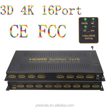 High performence certified hdmi splitter to coaxial with factory price