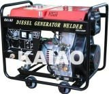 KDE6500EW/AC Single phase 3KW double use DC180A diesel welding generator for soldering and generating use