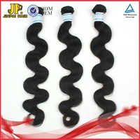 JP Hair Top Quality Unprocessed 100% Human Indian Hair Braids On Weft