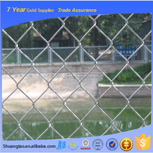 Portable useful outdoor chain link fence, chain link fence weight, plastic chain link fence