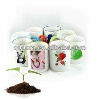 Ceramic mug 11oz white color for sublimation with decal