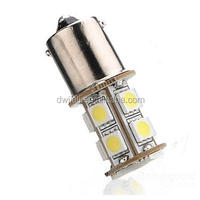 led car door logo laser projector light 1156 BA15S Car 5050 SMD 13 LED White Turn Light Bulb Lamp