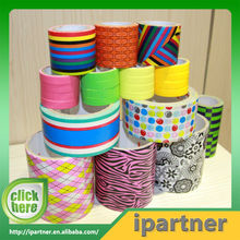 Heavy duct waterproof colored cloth duct tape for packing
