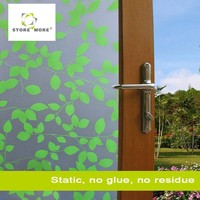 Colorful printing static cling glass window film sticker