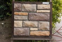 Painéis de parede Exterior imitação telha de pedra paisagismo rochas