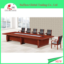 Modular and aluminum legs office executive conference table