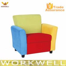 WorkWell rainbow color kids sofa Kw-CS37