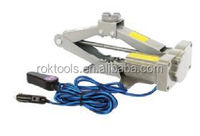 Wire Line control Electric Scissor Car Jack With 1500kg Load