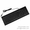 Wired USB Keyboard for Microsoft Full Size Black