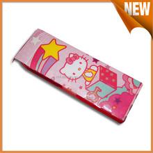 Factory direct sale plastic pencil case,custom pencil case