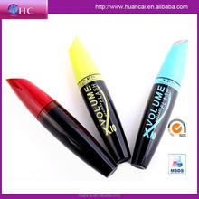 hot sale 2015 new fashion product 3d fiber lashes mascara, low irritation natural curling thickening eyelash mascara