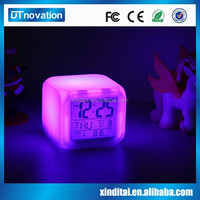 Alarm clock fan digital talking alarm clock with projection
