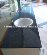 black galaxy quartz countertops