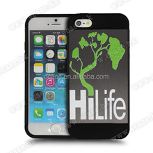 For Iphone 6 Good Quality Ocase Designable Colorful Drawing Painting PC/TPU two in one phone case with press key