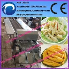 automática garra máquina de corte/garra de pollo de corte longitudinal de la máquina/garra de pollo de la máquina de cortar