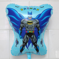 Wholesale 45*54cm classic cartoon toy Batman balloons foil helium balloons party balloon supplies birthday decorations