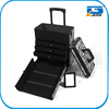 Aluminum salon cosmetic trolley, nail beauty cases trolley