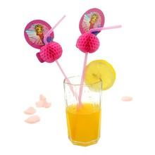 whosesale cocktail plastic flexible straws for juice
