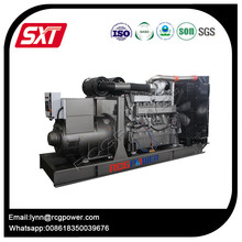 Stock promotion 50hz 650kva powered by Japan Mitsubishi engine open type diesel generator with CE certification approved