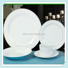 fine royal porcelain,porcelain tableware for restaurant,small quantity order custom