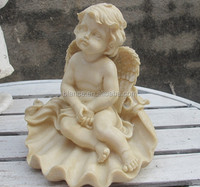 custom resin baby angel for home decoration
