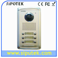 4 wire color interphone camera with aluminum shell (sipo-2AE)