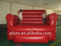 giant advertising inflatable sofa