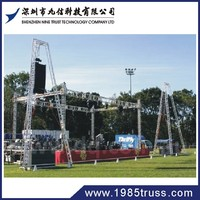 Steel structure space tube truss for bridge