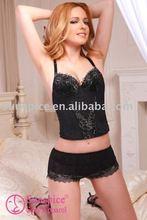 latest new top sexy women bustier lingerie manufacturer