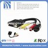 new type vga 15pin to 4pin S-video 3 rca converter adapter cable 1m for pc TV