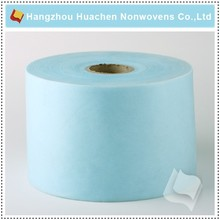 Alibaba China Customized PP Non woven Blue Cleaning Roll