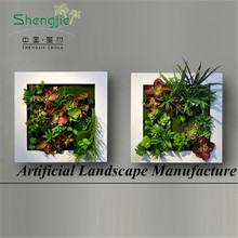 factory wholesale, amazing landscaping art, artificial plant for wall decor