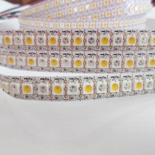 30/60/120led/m 5050smd digital rgb ws2812b apa104 full color led strip best selling products in america